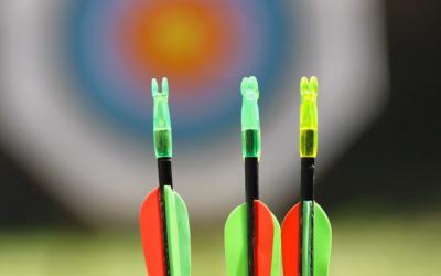 Scocca la freccia verso il cliente