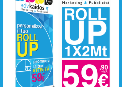 PROMO ROLL UP a 59,90€